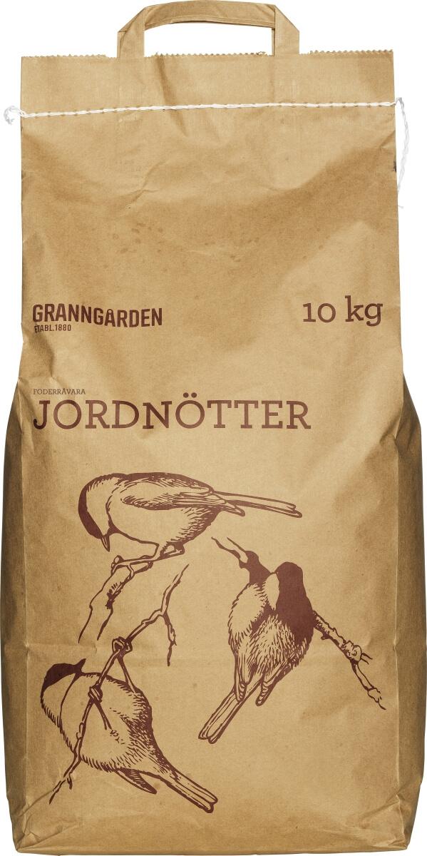Fågelmat Granngården Jordnötter, 10 kg