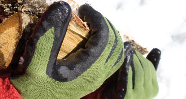Handske Frost, Grön/Svart stl 11